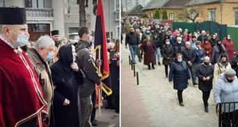 На Рівненщині та Прикарпатті попрощалися із загиблими під Шумами бійцями: фото