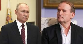 Єдиним захистом для Медведчука може стати Путін, – Лещенко