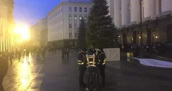 Полиции диалога угрожала опасность, ее эвакуировали, – Клименко о протесте под ОП