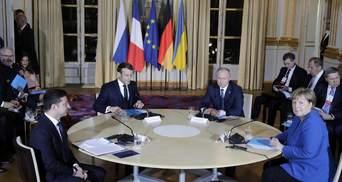 Путин, Меркель и Макрон без Зеленского обсудили Донбасс