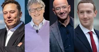 Білл Гейтс, Ілон Маск чи Джефф Безос: якого мільярдера американці люблять найбільше