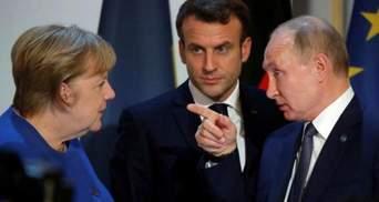 У Зеленського відреагували на переговори Путіна, Меркель та Макрона