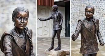 Скандал через 33 тисячі доларів: вартість статуї Грети Тунберг обурила студентів Британії