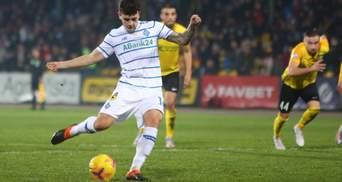 Динамо благодаря голу Родригеса на 90 минуте вырвало победу над Александрией: видео