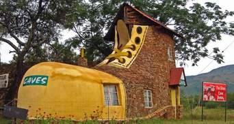 Сміх та подив: підбірка курйозних будинків по цілому світу