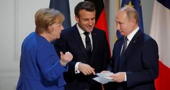 Макрон і Меркель поговорили з Путіним про Донбас: чому без Зеленського і що робити