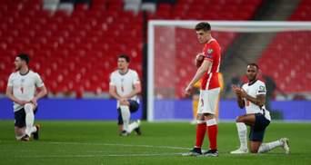 Збірна Польщі проігнорувала антирасистську акцію BLM перед матчем з Англією