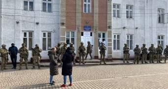 В СБУ объяснили, что делали возле помещения ОИК на Прикарпатье