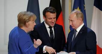 Провокация Кремля: почему у России и Франции с Германией разные итоги переговоров