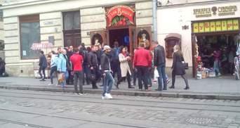 Во Львове запретили продавать алкоголь на разлив