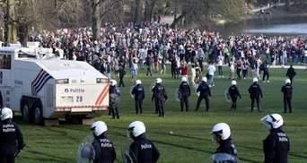 Жарт до 1 квітня призвів до масових заворушень у Брюсселі: фото й відео