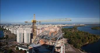 В Киеве на Оболони строят публичное пространство Vcentri Hub