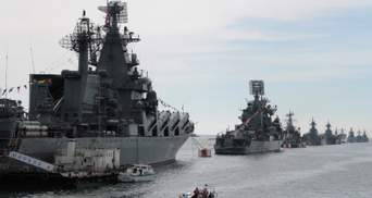 Росія в Криму почала перевірку Чорноморського флоту та відпрацьовує наступ