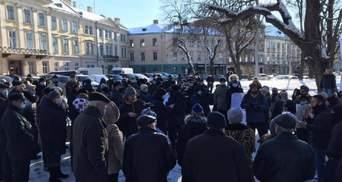 Во Львове оштрафовали организатора пикета против роста цен на газ