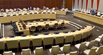 Спільні зусилля та тиск: Україна проінформувала Радбез ООН про загострення на Сході