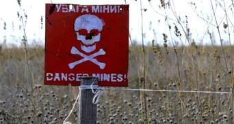 Украина лидирует среди стран с наибольшим количеством заминированных территорий