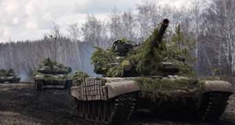 В зоне ООС состоялось обучение украинских танкистов резерва: мощные фото, видео