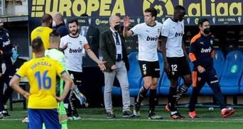 Футболисты Валенсии сорвали матч с Кадисом из-за расистского скандала: видео