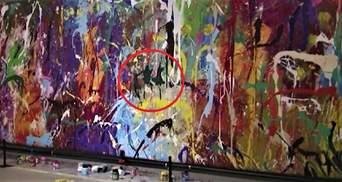 Дорога помилка: відвідувачі виставки зіпсували графіті вартістю 440 тисяч доларів