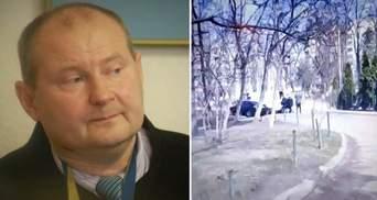 Похищение экс-судьи Чауса в Молдове: в сети появилось видео