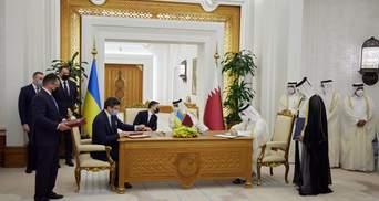 У присутності Зеленського в Катарі підписали низку важливих документів