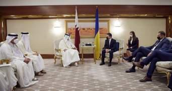 Катар зацікавлений вийти на банківський ринок України, – Зеленський