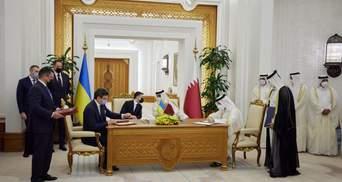 Украина и Катар подписали ряд совместных соглашений: перечень