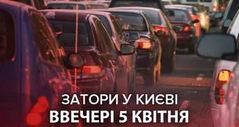 Транспортный коллапс: Киев остановился в крайне масштабных пробках – онлайн-карта