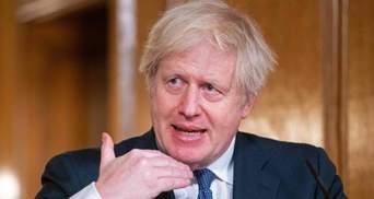 Британия обеспокоена активизацией агрессии России к Украине, – Джонсон