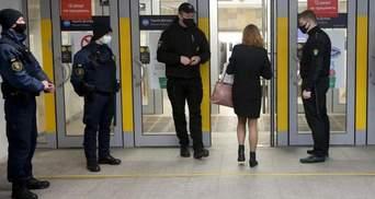 Из-за локдауна в метро Киева закрыли некоторые вестибюли