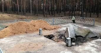 На Полтавщині невідомі пошкодили меморіальний комплекс Хану Кубрату