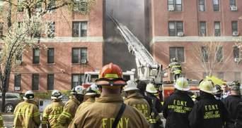 В Нью-Йорке произошел пожар в многоэтажке: 240 человек эвакуировали