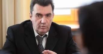 Не треба було нічого переписувати на дружину, – Данілов про санкції проти Марченко