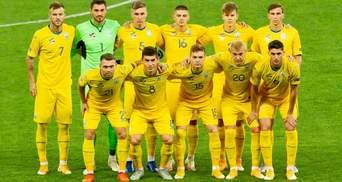 Збірна України залишилася у топ-25 рейтингу ФІФА