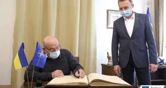 До Львова з робочим візитом приїхав Голова військового комітету НАТО: фото