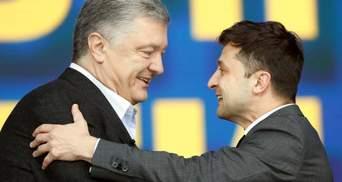 Зрада или победа: адепты Зеленского и Порошенко поменялись местами