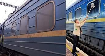 Датчанин сам помыл окно в поезде Укрзализныци: короткая сага о сервисе – фото