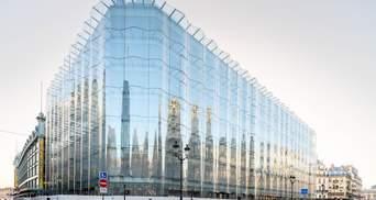 Історичне обличчя торгового центру: редизайн паризького центру моди