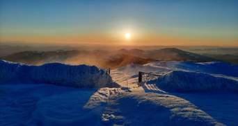У Карпатах триває зима: мороз до -11 градусів та загроза лавин