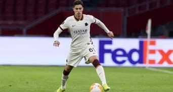 Як болбой кинув м'яч в обличчя футболісту Роми під час матчу Ліги Європи: відео