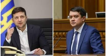 Рейтинг довіри очолив Зеленський, на другому місці – Разумков