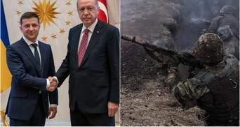 Головні новини 10 квітня: зустріч Зеленського з Ердоганом, поранення бійця ЗСУ на Донбасі