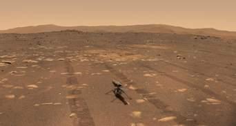 Марсианский вертолет Ingenuity подвигал лопастями в рамках подготовки к полету