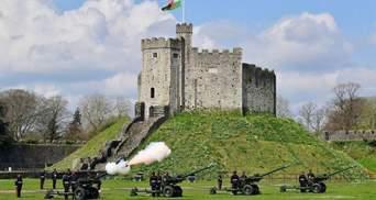 Британія вшанувала пам'ять принца Філіпа військовими салютами: фото