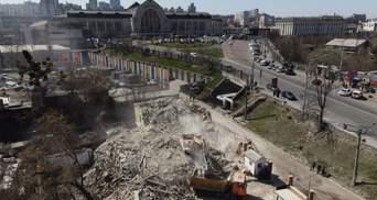 Історичний будинок Уткіна в Києві знесли: прокуратура відкрила кримінальну справу