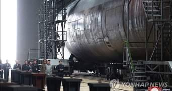 Північна Корея завершила будівництво атомного підводного човна