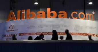 Китай оштрафував Alibaba на рекордну суму: ціна акцій компанії пішла вгору