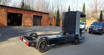 В Украине испытывают первый электромобиль отечественного производства