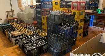 Прибыль – 4 миллиона ежемесячно: на Львовщине выявили цех по производству контрафактной водки
