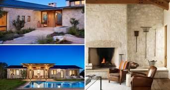 Каменная роскошь: шикарный интерьер техасского ранчо